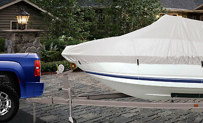 Boat Cover Relective Oxford Marine Grade Waterproof Boat Cover