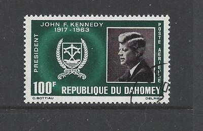 Dahomey Republic - C30 - Used - 1965 - In Memory Of Jf Kennedy