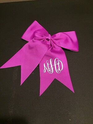 Monogram/ Personalized Hair Bow / Cheer Bow