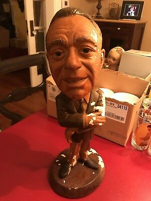 Vintage 1975 Esco Chalkware big Statue figure JACK BENNY RARE Fair condition.