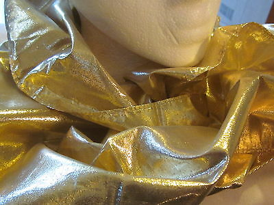 """AVON Gold Elegance Scarf -Created in the Philippines for Avon 12 1/2"""" W x 60""""L"""