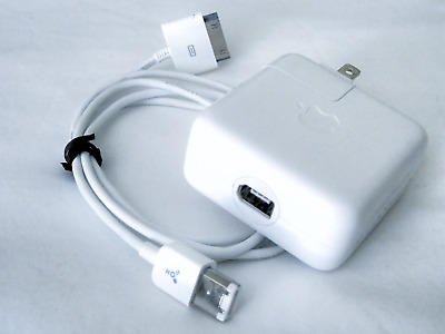 Apple iPod Power Adapter w/ FireWire(400)-to-30 Pin Cable | A1070  ADP-8PBA