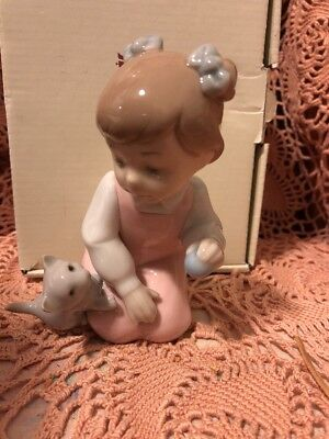 LLADRO NAO 1519 Play Time Retired! Mint Condition! Original Box! L@@K!