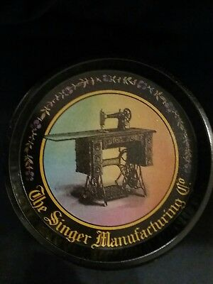 The singer manufacturing co tin