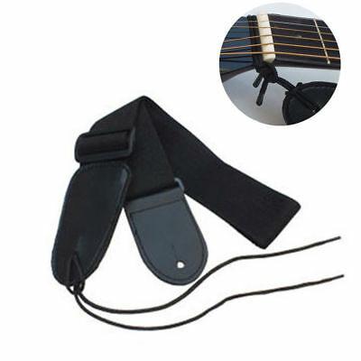 Acoustic Electric Guitar Bass Braided Rope Adjustable Strap Belt Guitar Strap