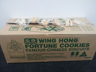 Fortune Cookies 20 50 100 250 Pieces - Weddings,  Parties, Treat - Free Post