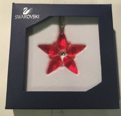Swarovski Poinsettia Ornament Small - #0905210