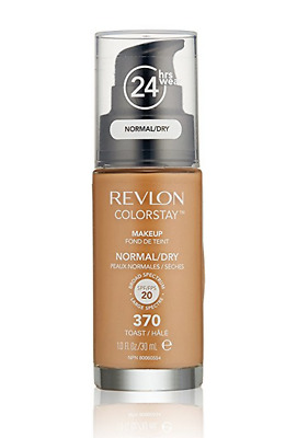 Revlon ColorStay Liquid Makeup for Dry / Normal Skin, #370 Toast, 1oz