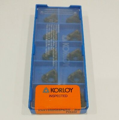 10 pcs KORLOY XNKT 080508PNSR-MM PC5400 milling carbide inserts XNKT080508PNSR
