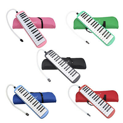 Portable 32 Key Melodica Student Harmonica Musical Instrument With Bag