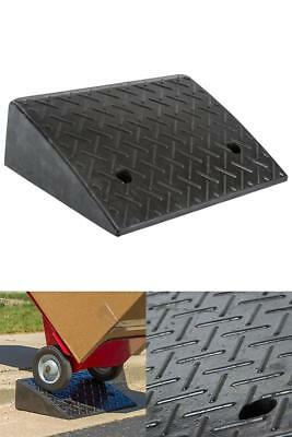 """Rage Powersports DH-UP-5 Loading Dock Rubber Curb Ramp (40000 lb.)1Pk 5.25"""" Rise"""