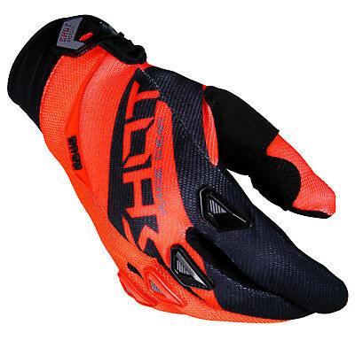 2018 Shot Devo Alert Motocross Glove Mx Atv Enduro Mtb Bmx Neon Ktm Orange
