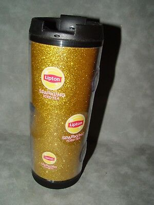 "Lipton Sparkling Iced Tea Insulated Cup 8"" Tall Never Use"