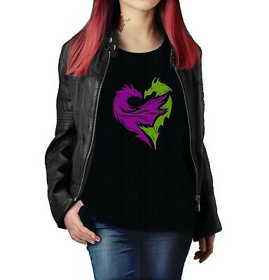 Disney's  Descendants Mal Icon t-shirt gift novelty item tees