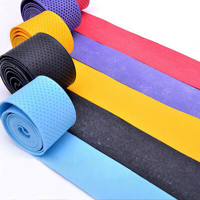 10/20PCS Absorb sweat stretchy Tennis Squash Racquet Band Grip Tape Overgrip#