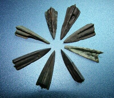 Ancient arrowheads bronze. RARE. ORIGINAL 3(P)