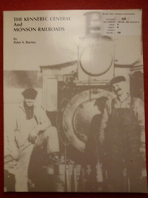 Buch: The Kennebec Central and Monson Railroads (Maine 2 ft.)
