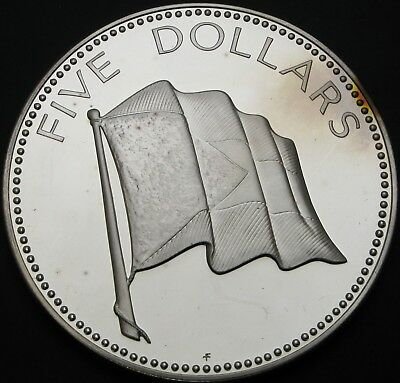 BAHAMAS 5 Dollars 1974 Proof - Silver - 3246 ¤