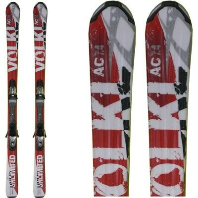 Ski occasion Volkl AC 7.4 rouge + fixations