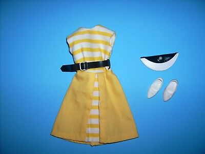 Vintage SUNNY STROLLER 1960's Tammy doll clothes #9054-8 outfit Ideal toy purse