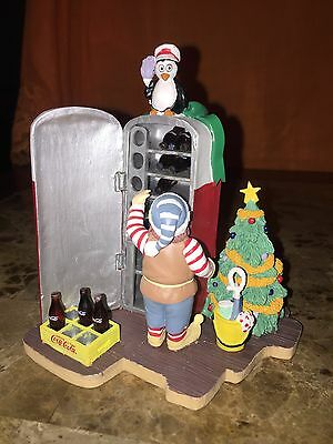 Coca Cola Collectibles North Pole Bottling Works Collection 1995