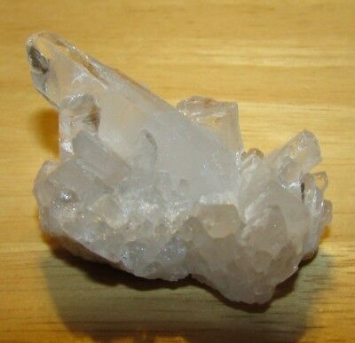 13202   Small Natural Clear Quartz Crystal Cluster