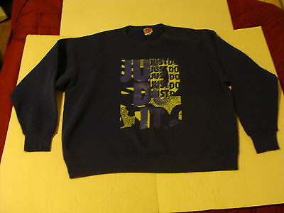 Nike Vintage Just Do It Sweat Shirt Made in USA RARE