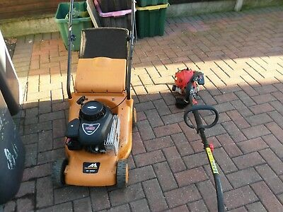 Sovereign Petrol Strimmer aND LAWN MOWER