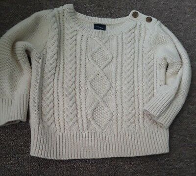 Gap girl knitted sweater size 6-12 months