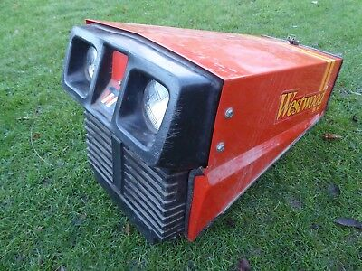 Westwood T1200 Metal Bonnet 3680 For Ride On Lawnmower Garden Tractor