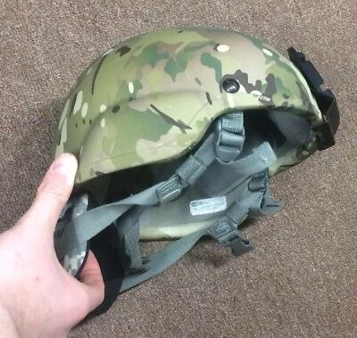 ACH MICH USED Helmet MSA  size  LARGE  Multicam Crye Nape