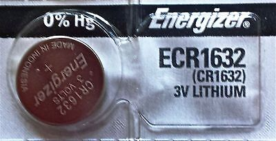 NEW FRESH ENERGIZER CR1632 ECR1632 1632 3V Lithium Coin Battery Expire 2025 USA