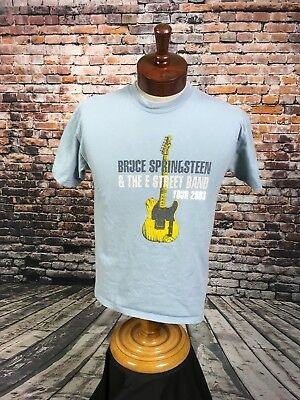 VTG Bruce Springsteen & The E Street Band Concert Tour T Shirt 2003 Summer MED
