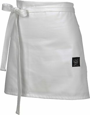 "Chef Revival 403FW Poly Cotton 4 Sided Bistro Apron, 16"" Length x 30"" Width,"