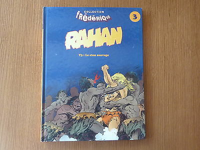 RAHAN Tome 3 *** LE CLAN SAUVAGE *** COLLECTION FREDERIQUE
