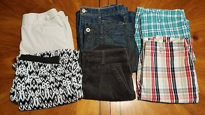 Women's size 8-10 mixed lot skirts,shorts Loft, Izod,Jones NY,Divided & more