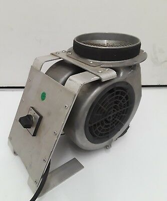 Centrifugal Blower 1900 rpm,110V/60Hz/3V Industrial 2 amp max