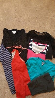 maternity top dress lot medium