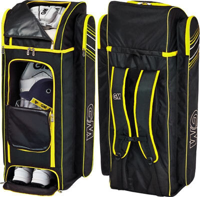 2018 Gunn and Moore Original Black Yellow Duffle Cricket Bag Size 98 x 36 x 31cm