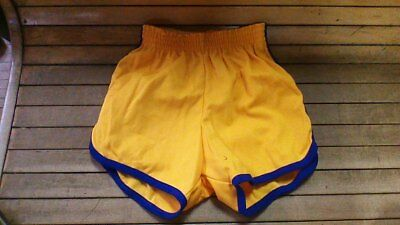 Vintage 70s russell athletic 65poly 35 cotton gym shorts made in the usa