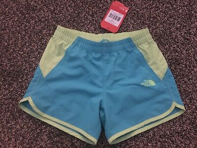 The North Face Girls Water Short youth girls medium bluebird