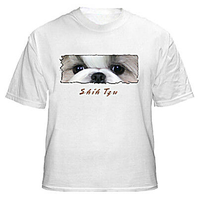 "Shih Tzu  # 1   "" The Eyes Have It ""    Custom  Made   T shirt"