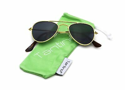 Baby Infant Boy or Girl Classic Metal Aviator Fashion Sunglasses for Ages 0 t...