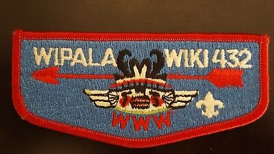 OA WIPALA WIKI Lodge 432 Flap PB fleur-de-lis Grand Canyon Council BSA