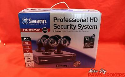 Swann (SWDVK-844004) Pro-Series HD - 8-Channel - Security Camera Kit NEW