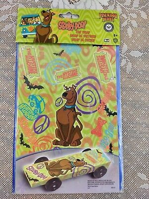 NEW! SCOOBY-DOO Boy Scouts Pinewood Derby Car Wrap Decal Revell  RMXY9409