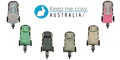 Keep Me Cosy™ Toddler Footmuff + Pram Liner 2 in 1 set - eight exclusive designs