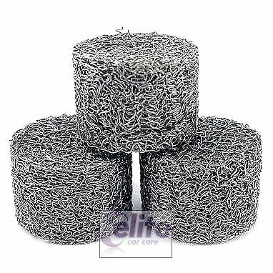 Stainless Steel Snow Foam Lance Replacement Gauze Filter – Pack of Three - UK