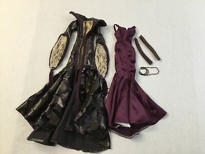 COMPLETE Outfit only Gothic Romance for Tonner Evangeline Ghastly NO DOLL