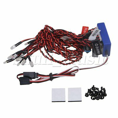 12 LED Smart Simulation Flash Lighting System Kit for RC 1:10 1:8 Cars